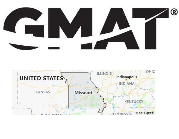 GMAT Test Centers in Missouri