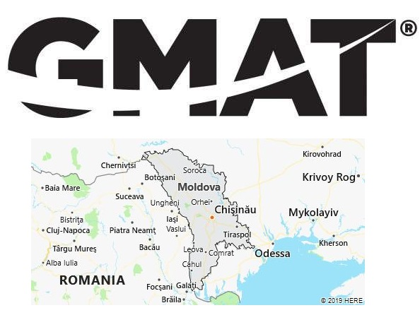 GMAT Test Centers in Moldova