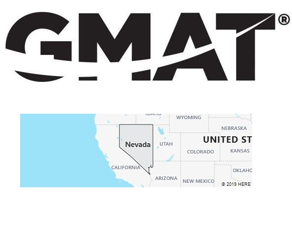 GMAT Test Centers in Nevada