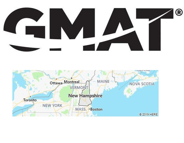 GMAT Test Centers in New Hampshire