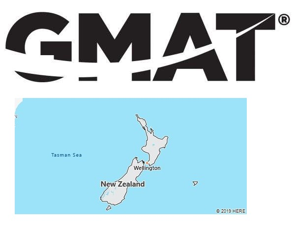 GMAT Test Centers in New Zealand