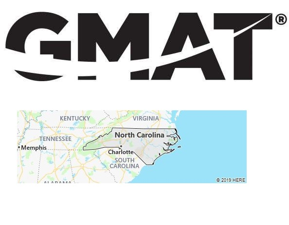 GMAT Test Centers in North Carolina
