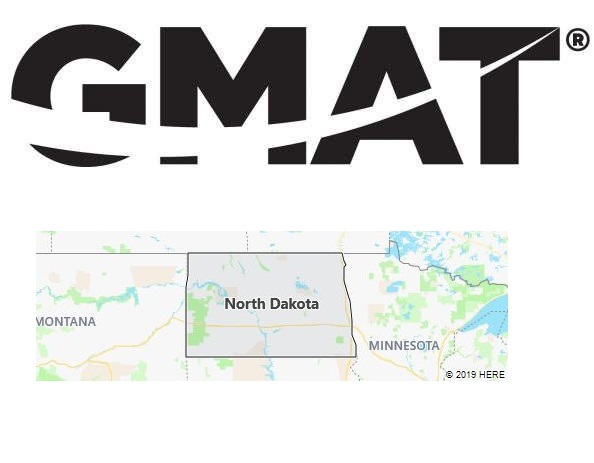 GMAT Test Centers in North Dakota