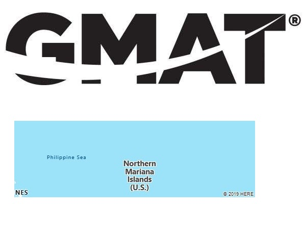GMAT Test Centers in Northern Mariana Islands