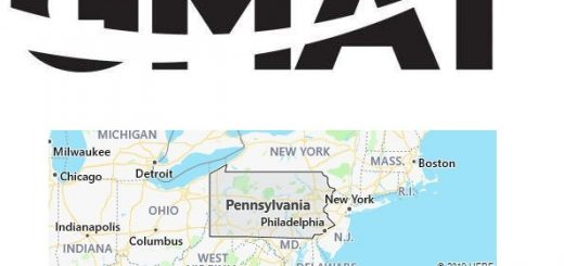 GMAT Test Centers in Pennsylvania