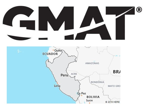 GMAT Test Centers in Peru