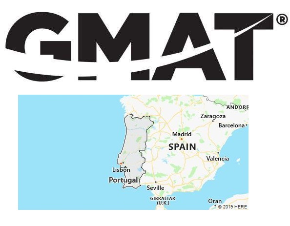 GMAT Test Centers in Portugal