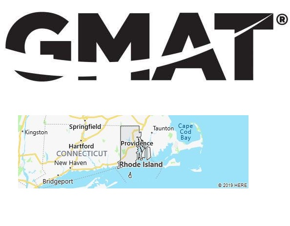 GMAT Test Centers in Rhode Island