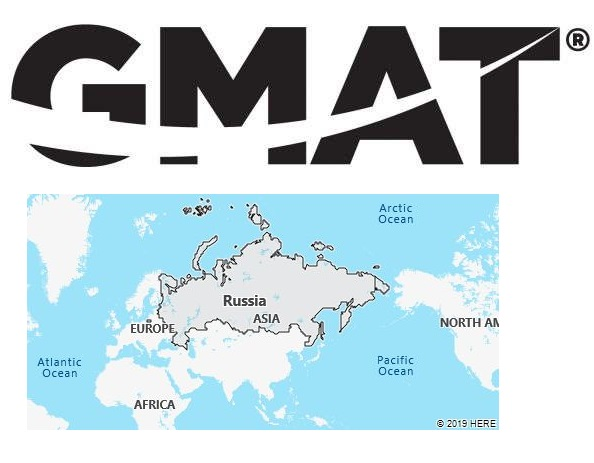 GMAT Test Centers in Russia