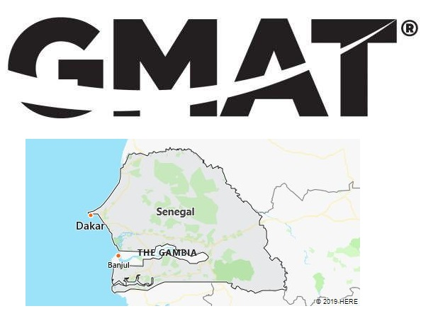 GMAT Test Centers in Senegal