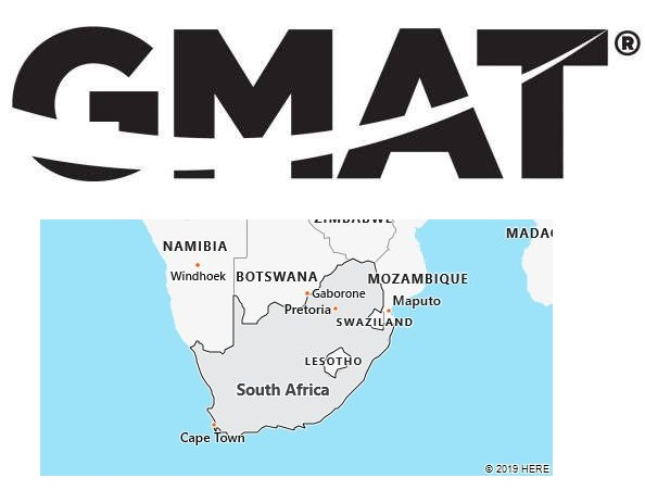 GMAT Test Centers in South Africa