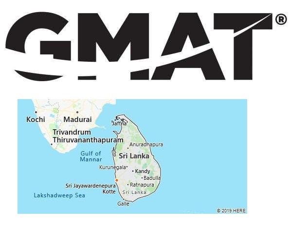 GMAT Test Centers in Sri Lanka