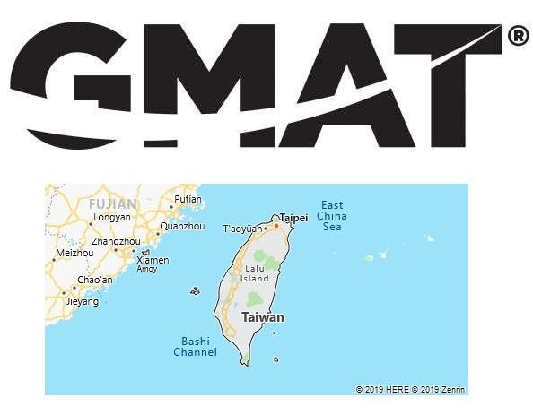 GMAT Test Centers in Taiwan