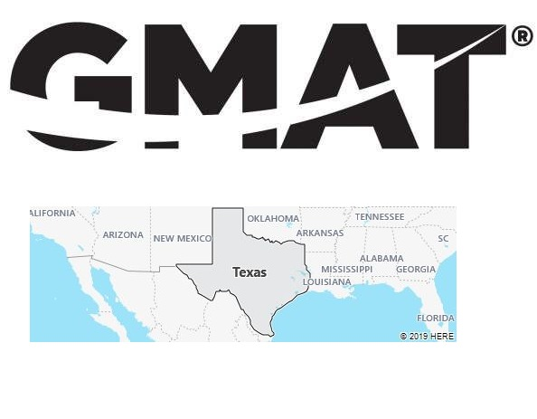 GMAT Test Centers in Texas