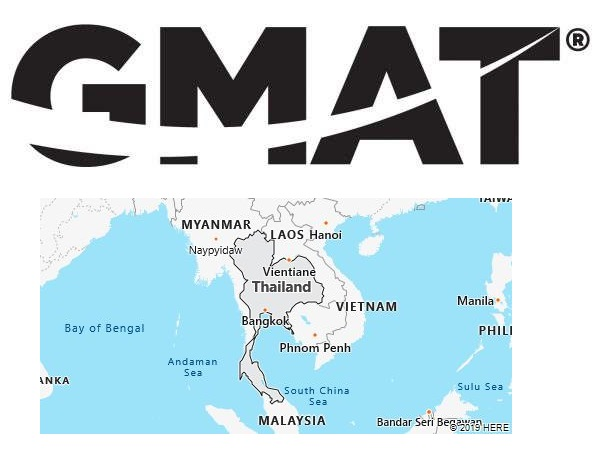 GMAT Test Centers in Thailand