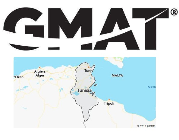 GMAT Test Centers in Tunisia