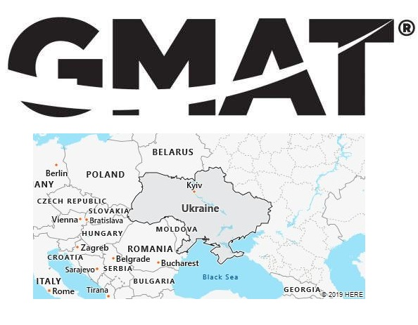 GMAT Test Centers in Ukraine