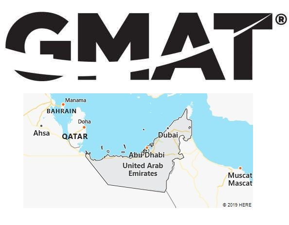 GMAT Test Centers in United Arab Emirates