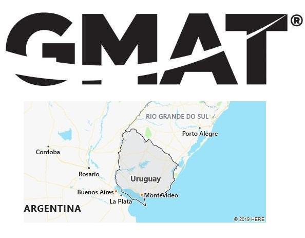 GMAT Test Centers in Uruguay