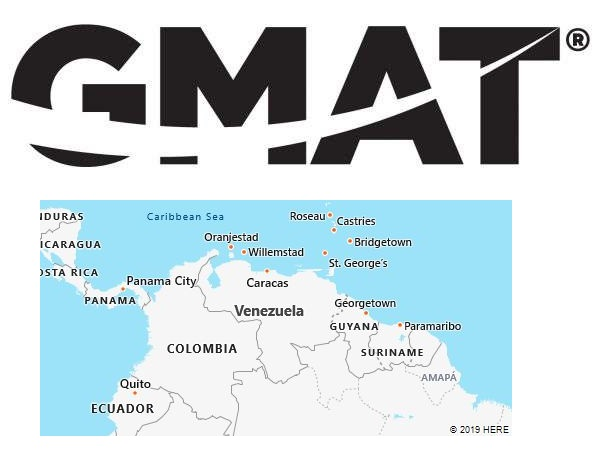 GMAT Test Centers in Venezuela