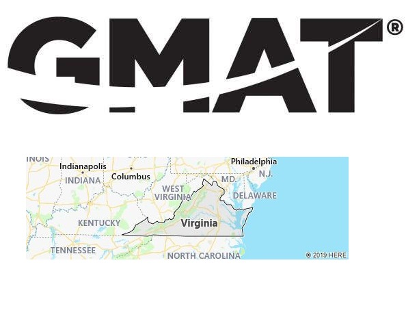 GMAT Test Centers in Virginia