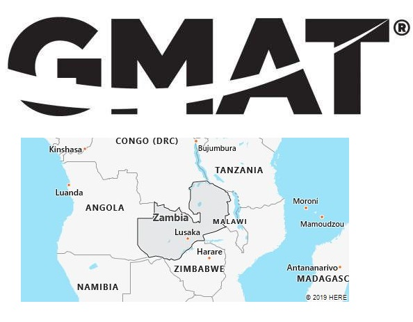 GMAT Test Centers in Zambia