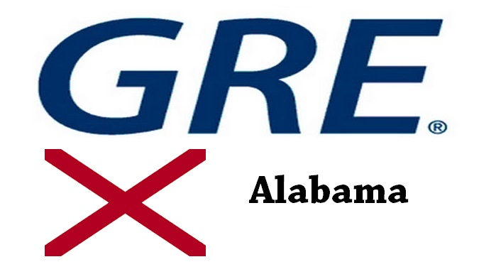 GRE Test Centers in Alabama
