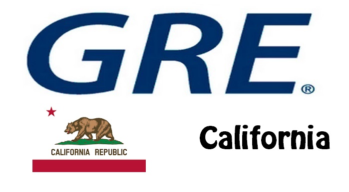 GRE Test Centers in California