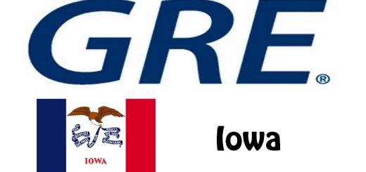 GRE Test Centers in Iowa