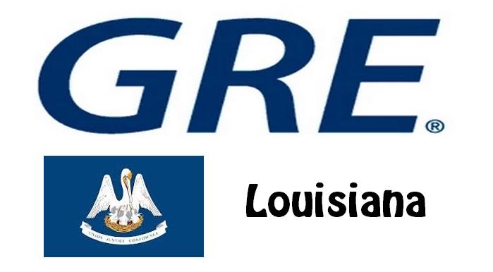 GRE Test Centers in Louisiana