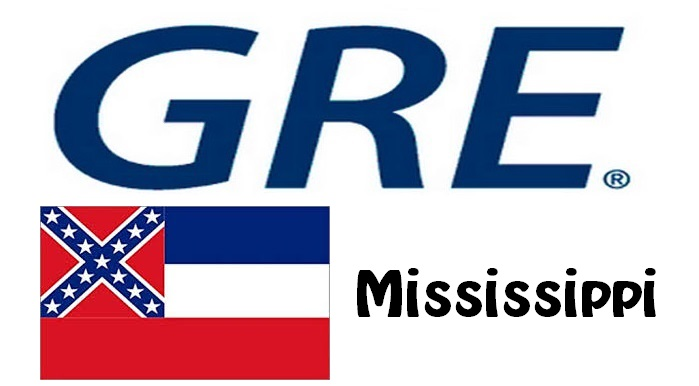 GRE Test Centers in Mississippi
