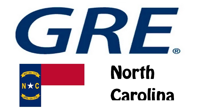 GRE Test Centers in North Carolina