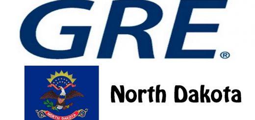 GRE Test Centers in North Dakota