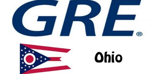 GRE Test Centers in Ohio