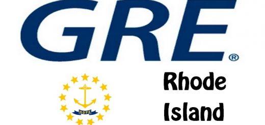 GRE Test Centers in Rhode Island
