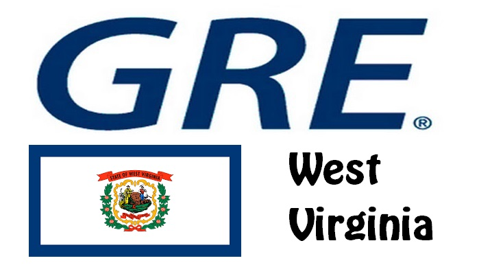 GRE Test Centers in West Virginia