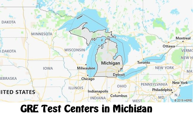 GRE Test Dates in Michigan