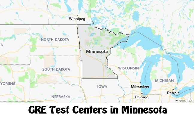 GRE Test Dates in Minnesota