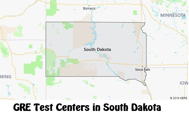 GRE Test Dates in South Dakota