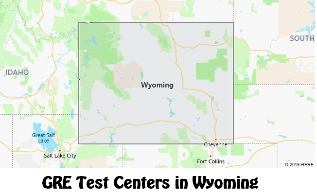 GRE Test Dates in Wyoming