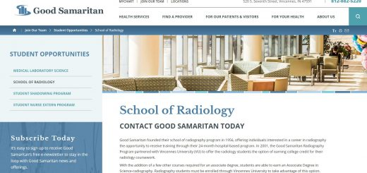 Good Samaritan Hospital School of Radiologic Technology