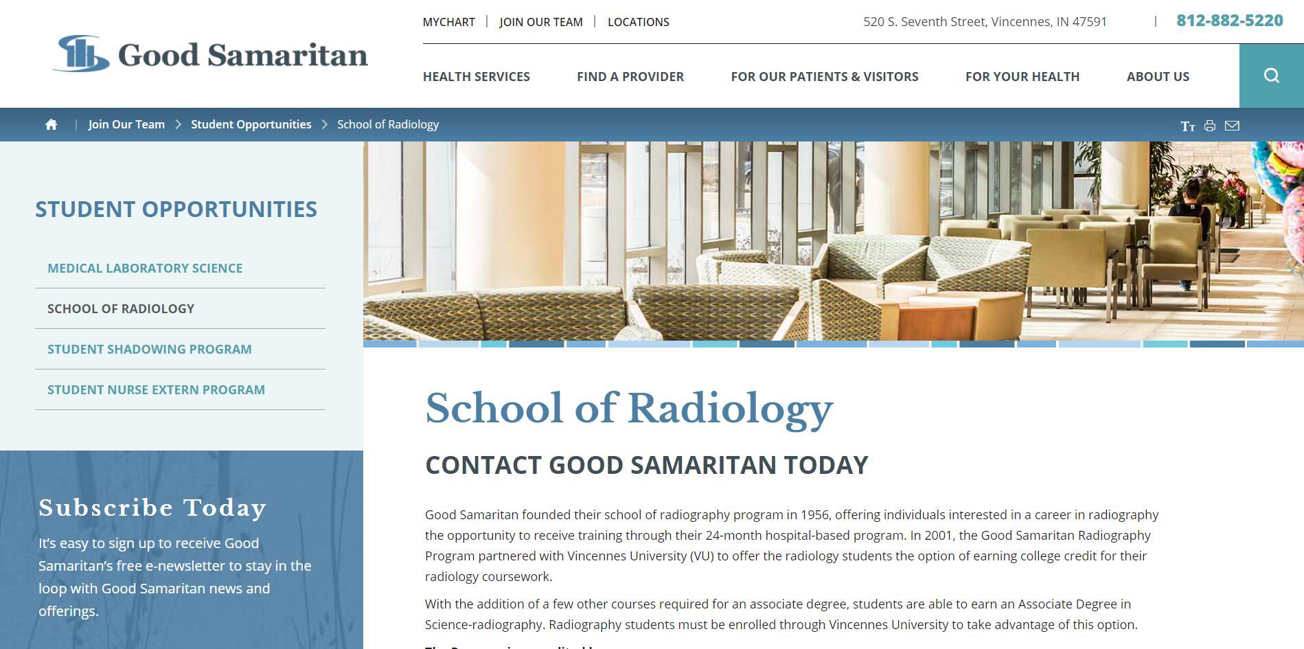 Good Samaritan Hospital School of Radiologic Technology