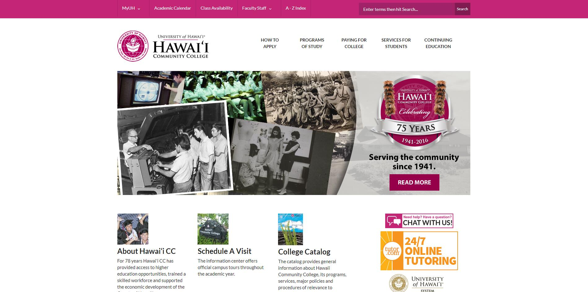 List of Community Colleges in Hawaii