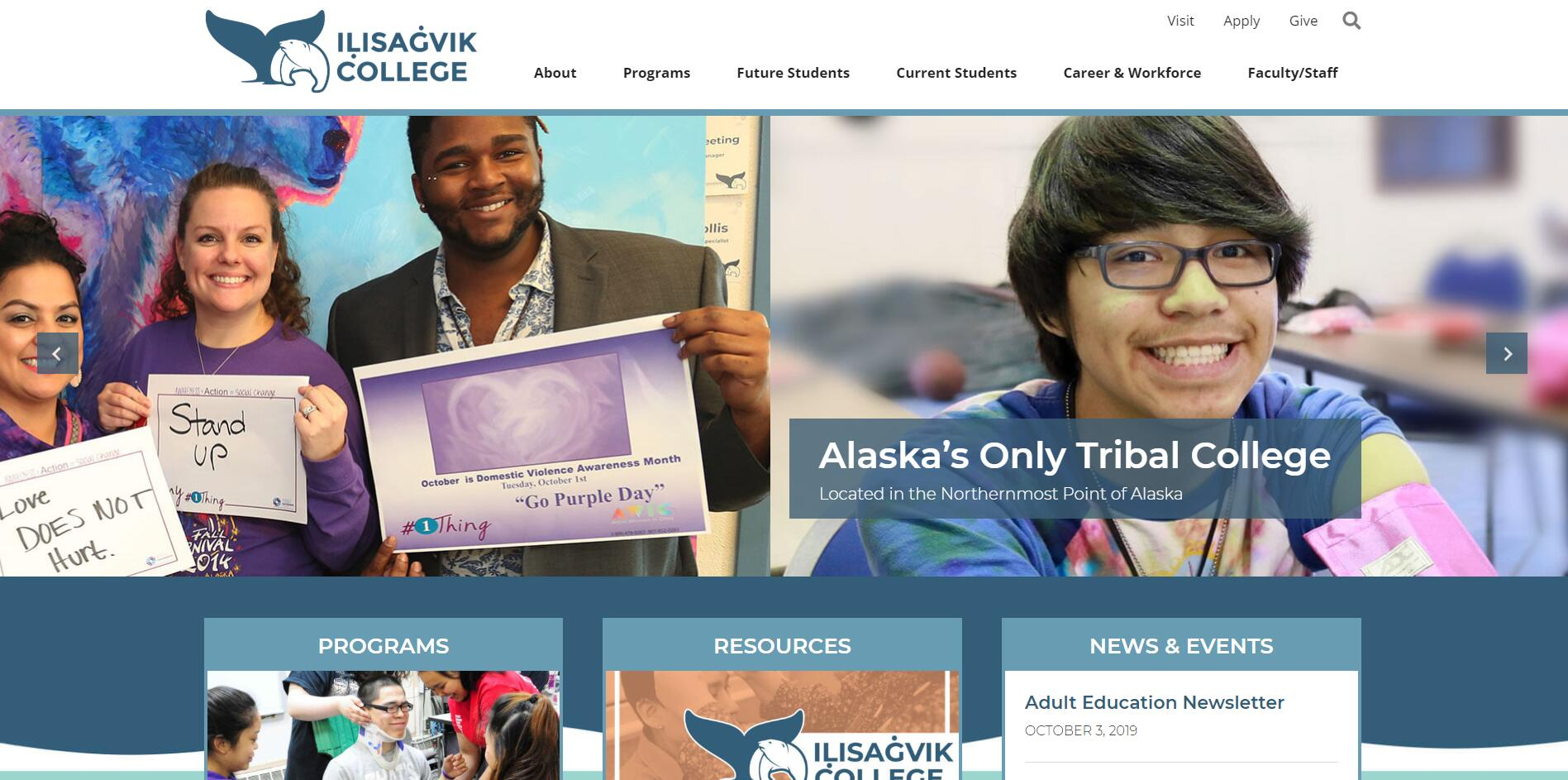 List of Community Colleges in Alaska
