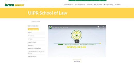 Inter-American University Law School