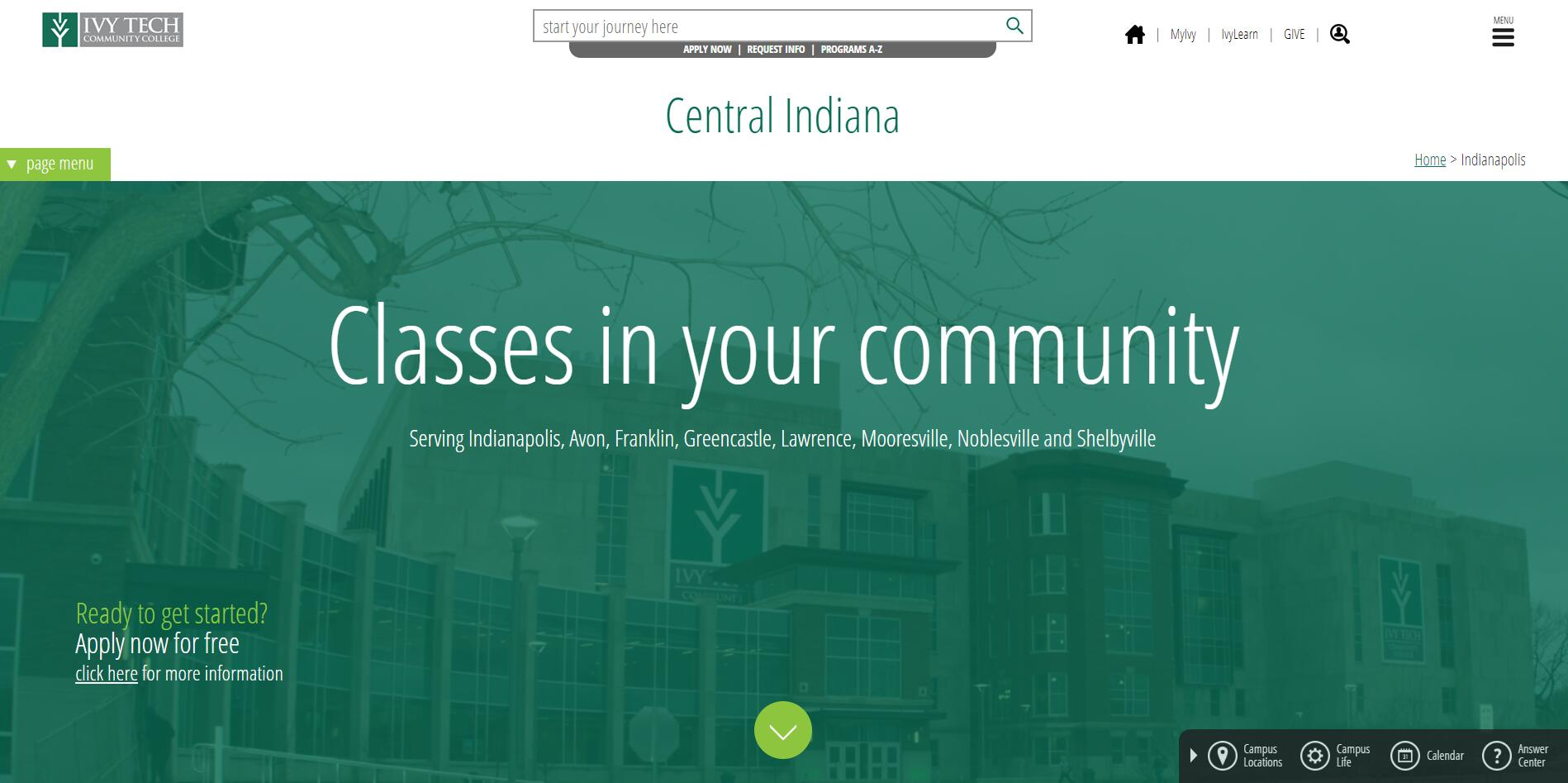 Ivy Tech Community College-Central Indiana