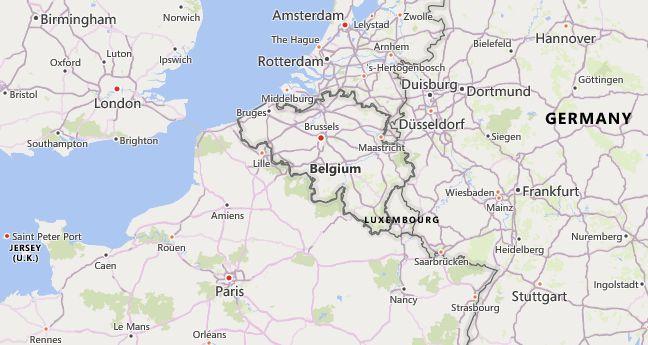 High School CEEB Codes in Belgium