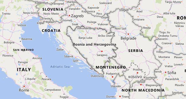 High School Codes in Bosnia and Herzegovina