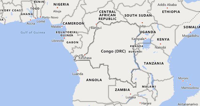 High School CEEB Codes in Democratic Republic of the Congo