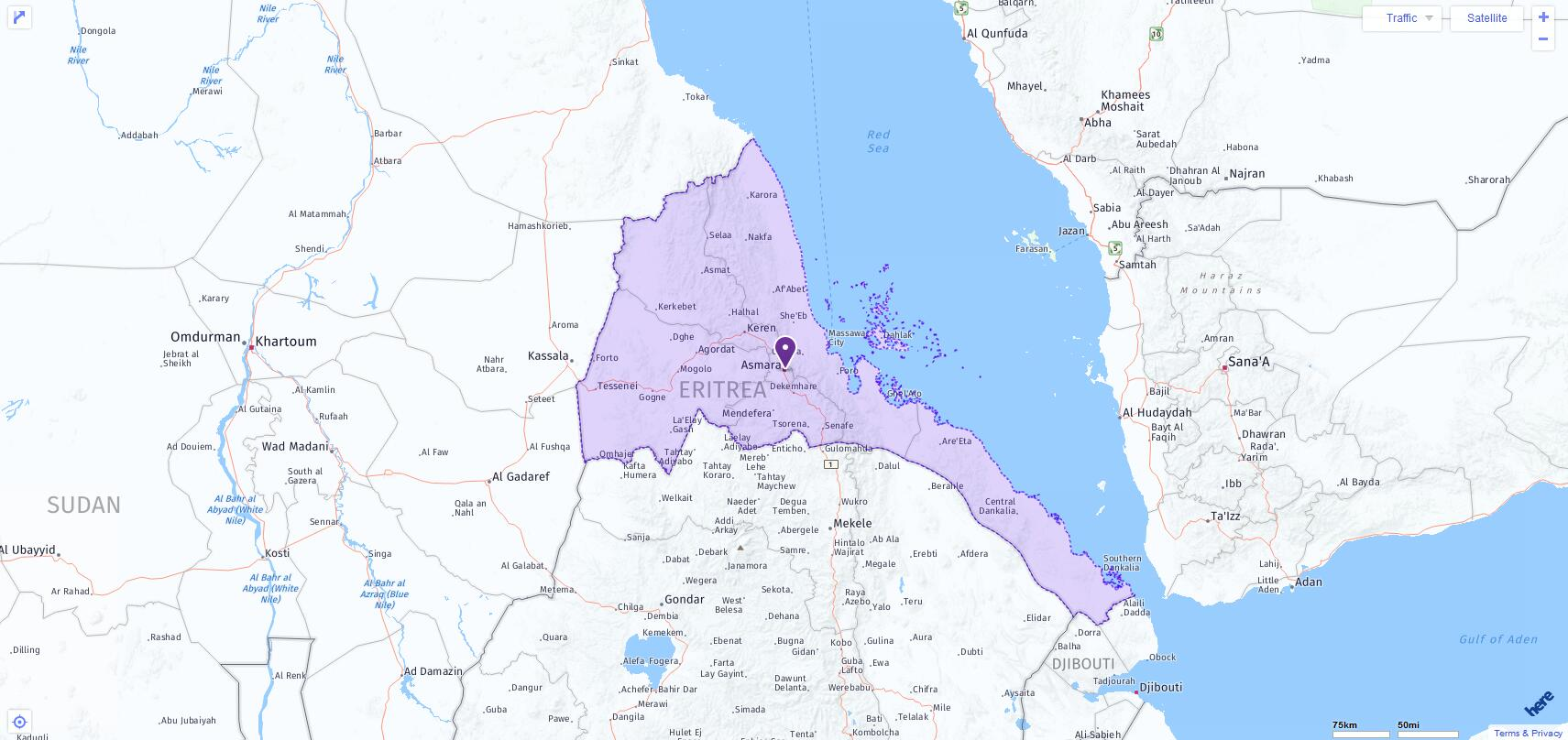 ACT Test Centers and Dates in Eritrea